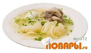 Рецепт Peruvian Caldo de Gallina (пряный куриный суп)