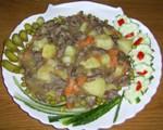 Рецепт Сердечки куриные тушеные или рагу с сердечками