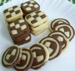 Рецепт Шахматное печенье