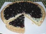 Рецепт Открытый смородиновый пирог