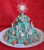 Торт «Новогодняя ёлочка»