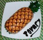 Торт-рулет «Ананас»