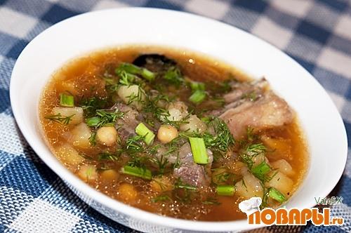 Рецепт Азербайджанский суп - Пити