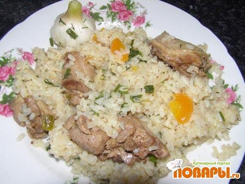 Рецепт Утка с рисом