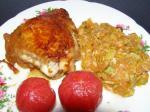 Курятина в медовом соусе