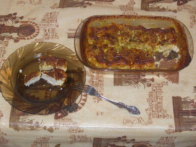 Рецепт Рулетики из куриной грудки