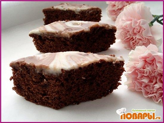 Рецепт Апельсино-шоколадный пирог