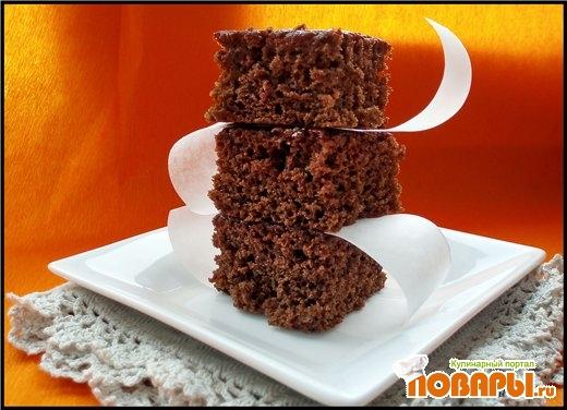 Рецепт Пирог из свеклы с какао