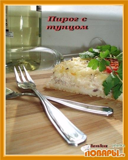 Рецепт Пирог из тунца