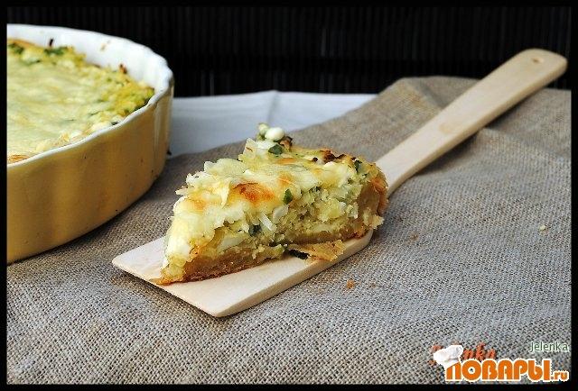 Рецепт Пирог с капустой и домашним творогом