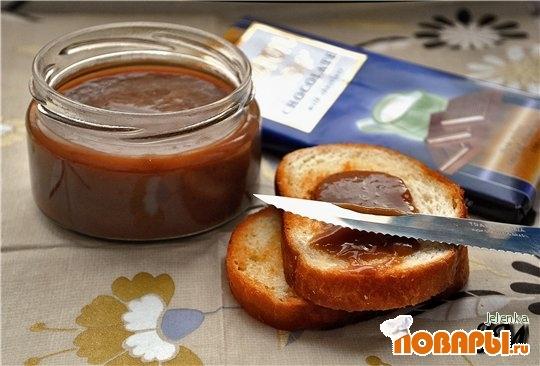 Рецепт Бананово – шоколадный крем