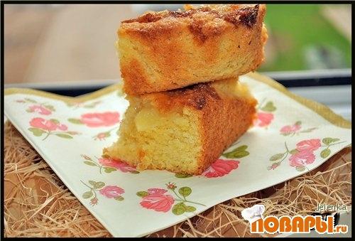 Рецепт Яблочно-кокосовый пирог