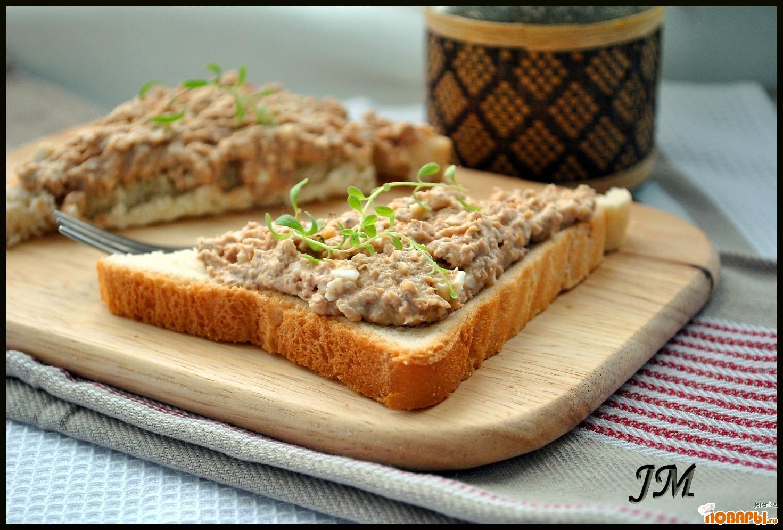 Рецепт Бутерброды с тунцом и сыром