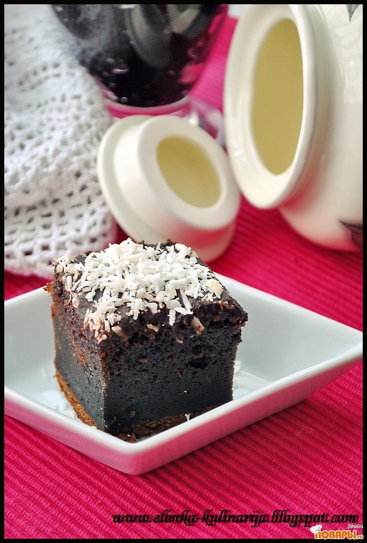 Рецепт Пирог с черничным джемом
