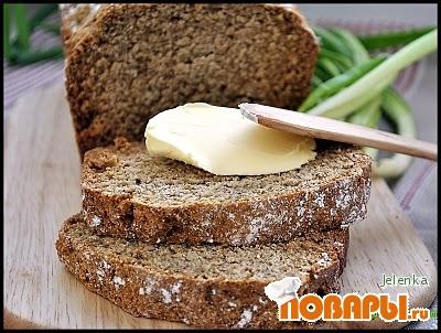 Рецепт Домашний ржаной хлеб с тмином
