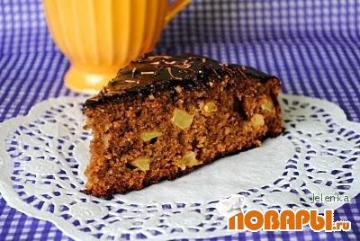 Рецепт Яблочный торт с какао