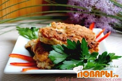 Рецепт Котлеты-оладьи из свинины с овощами