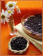 Творожно-черничный пирог II