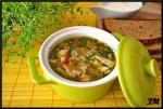 Быстрый суп с фаршем