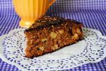 Яблочный торт с какао