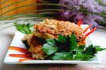 Котлеты-оладьи из свинины с овощами