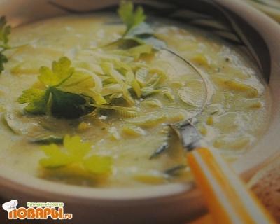 Рецепт Ароматный крем-суп луковый