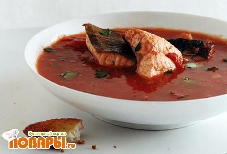 Рецепт Рыбный суп из красивейшего Испанского города -Валенсия