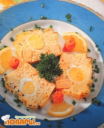 Рецепт Суфле из горбуши