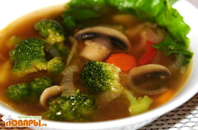 Рецепт Суп Овощной «Вегетарианский»