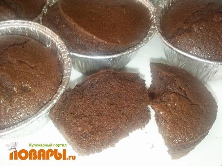 Рецепт Влажные шоколадно-имбирные кексы