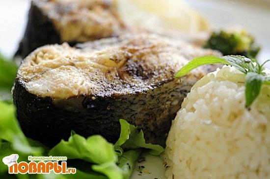 Рецепт Рыбка Толстолобик «Из духовки»