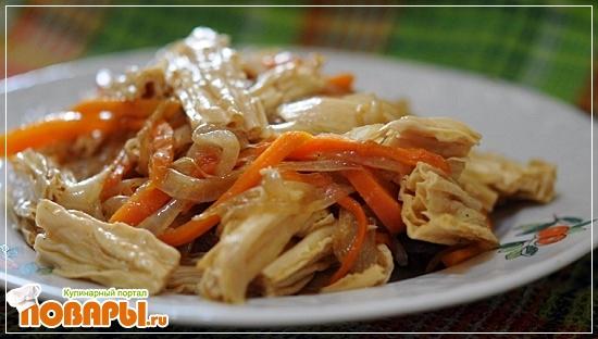 Рецепт Салат «Спаржа по Корейски»