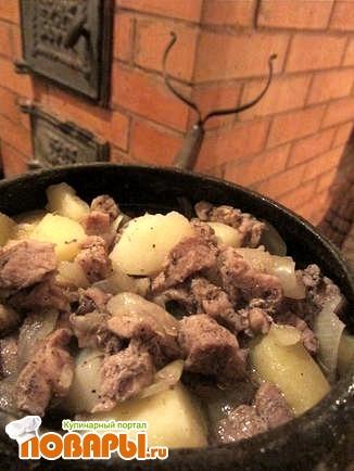 Рецепт Жаркое по-деревенски
