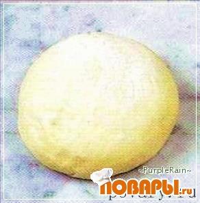 Рецепт Вкусное тесто для бриошей