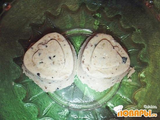 Рецепт Десерт из муки с черносливом, орехом и кунжутом
