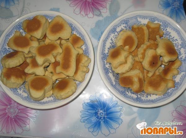 Рецепт Печенье молочное