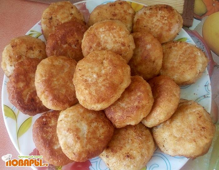 Рецепт Куриные тефтели с сыром