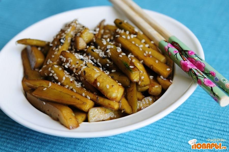 Рецепт Огурчики по-корейски быстрые