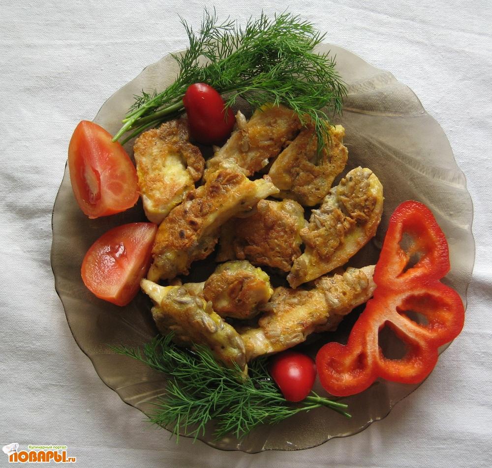 Рецепт Куриные наггетсы по-домашнему