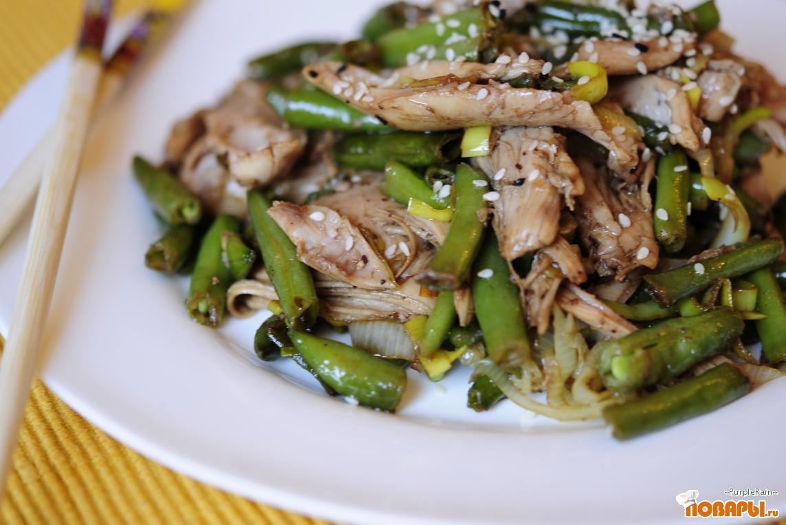 Салат из фасоли стручковой рецепты