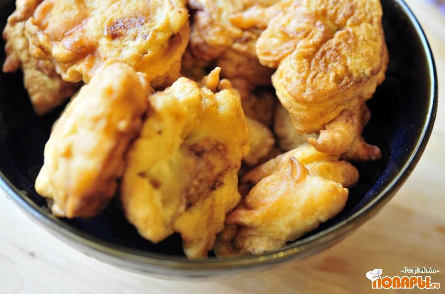 Рецепт Филе куриное под жаренной шубкой