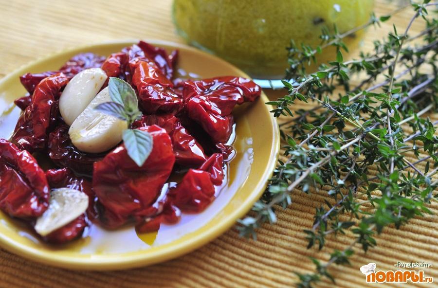 Рецепт Вяленые помидоры в масле
