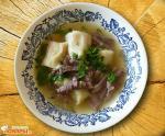 Суп «Улитка» с говяжьим или свиным языком