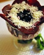 Салатик «Цветочный коктейль»