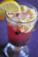 Яблочно- смородиновый лимонад