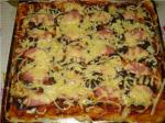Пицца от Славяны