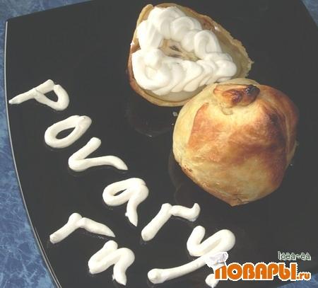 Рецепт Пирожное «Медовые груши»