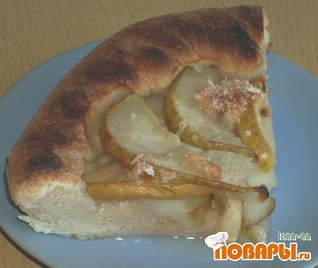Рецепт Пирог яблочно-грушевый в карамели