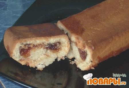Рецепт Пряник с фруктовой начинкой