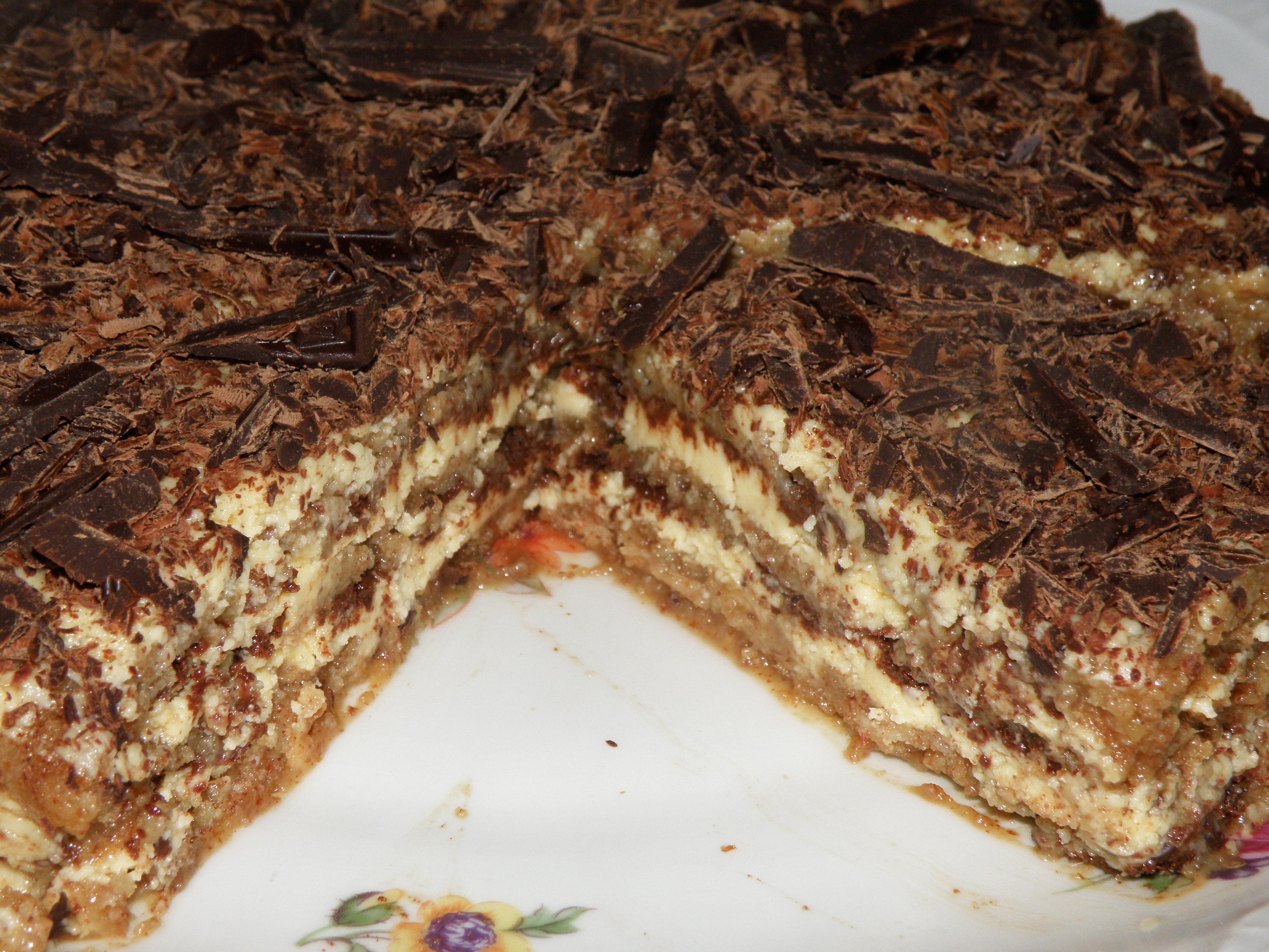 Рецепт Semifreddo - Ледяной миндальный торт